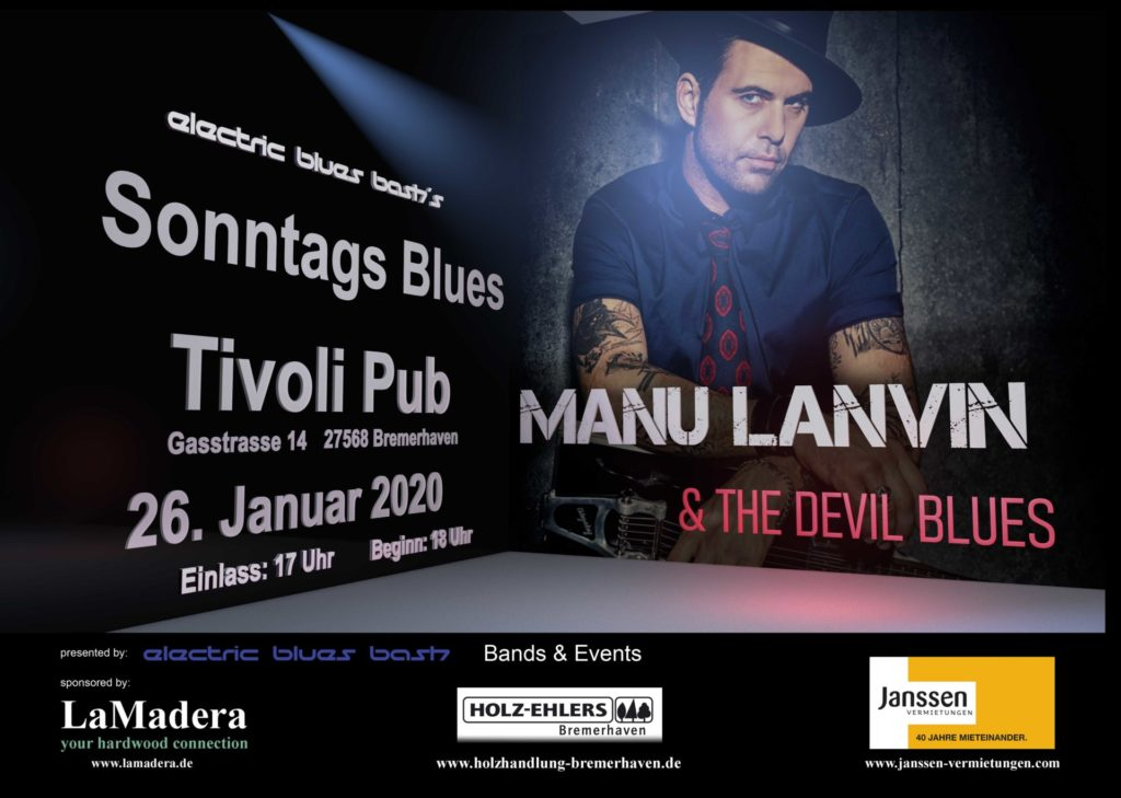 Manu Lanvin and The Devil Blues